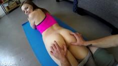 Una clase de yoga de lo más calentita